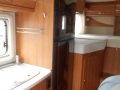 2014 Hymer exsis fridge and oven