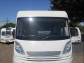 Hymer outside front sun