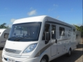 Hymer outside side sun