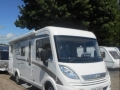 Hymer outside sun