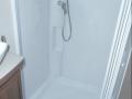 2017 Elddis Affinty 554 shower tray