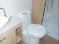 2017 Elddis Avante 840 toilet