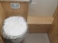 2017 Elddis Avante 550 toilet