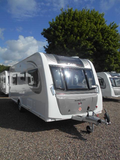 Luxury 2014 Hymer Exsis I 578  Wallace Caravans Kirkcaldy