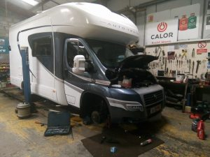 Caravan & Motorhome Approved Servicing and Repairs Fife Scotland.